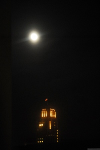 'When the Moon Comes Closest to the Earth, From My Window Series,' 2011 photo by Catherine Herrera 2011 3 of 12