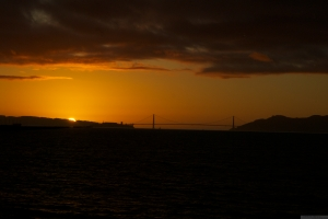 'San Francisco Bay at Sunset, 2011,' photo by Catherine Herrera 11 of 36