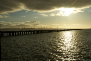 'San Francisco Bay at Sunset, 2011,' photo by Catherine Herrera